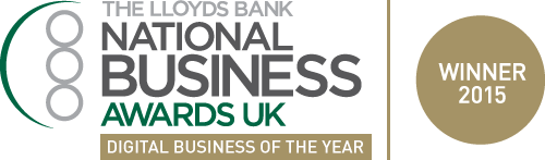 National Business Awards 2015 winner logo
