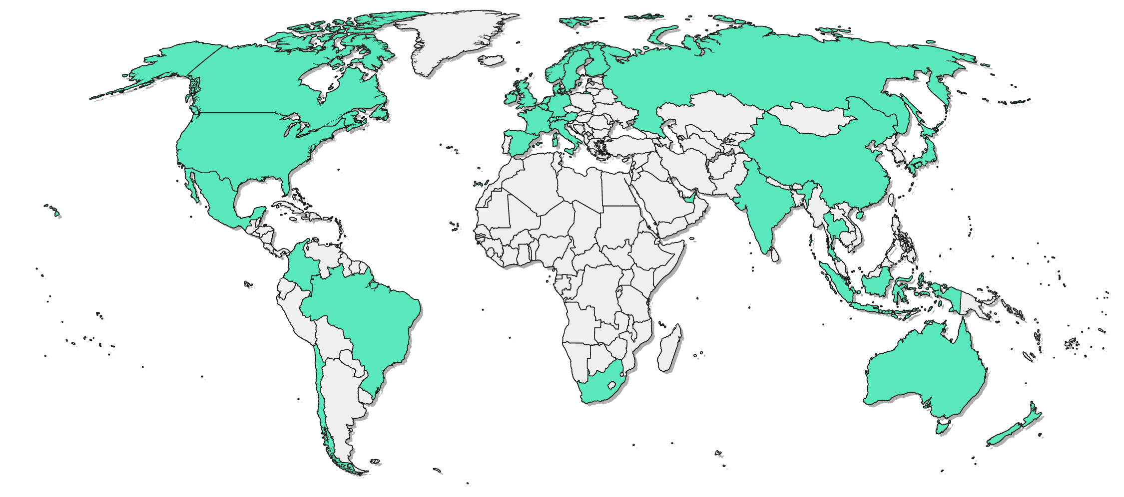 Engaged global audience